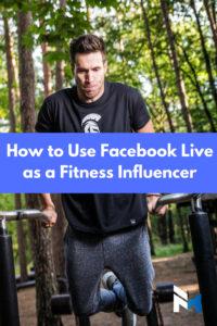Facebook Live fitnessinfluencer